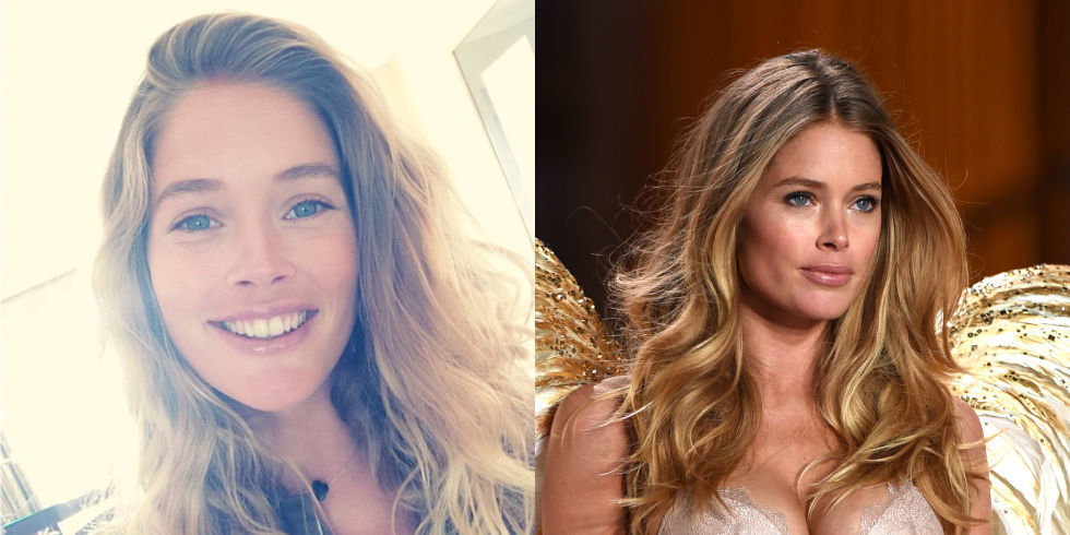 14 Victoria's Secret Angels WIthout Their Makeup  14 Victoria'...