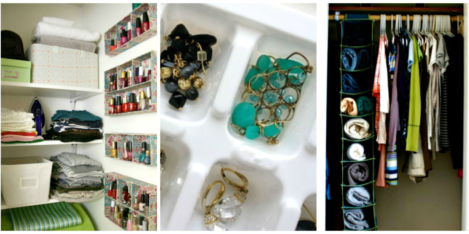 11 crazy clever d i y organizing hacks home organizing tips for Household hacks