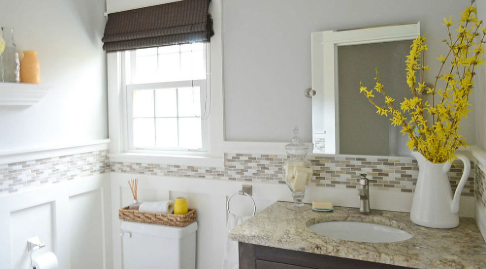 Paint With Light Colors   8 Budget Friendly Ways To Make Your Bathroom Look  Expensive