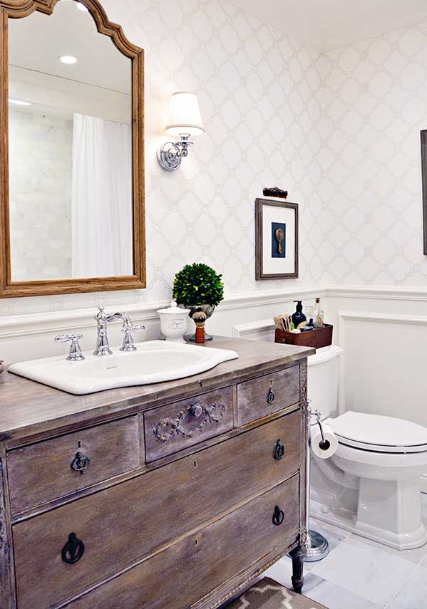 8 budget friendly ways to make your bathroom look expensive Rustic bathroom designs on a budget