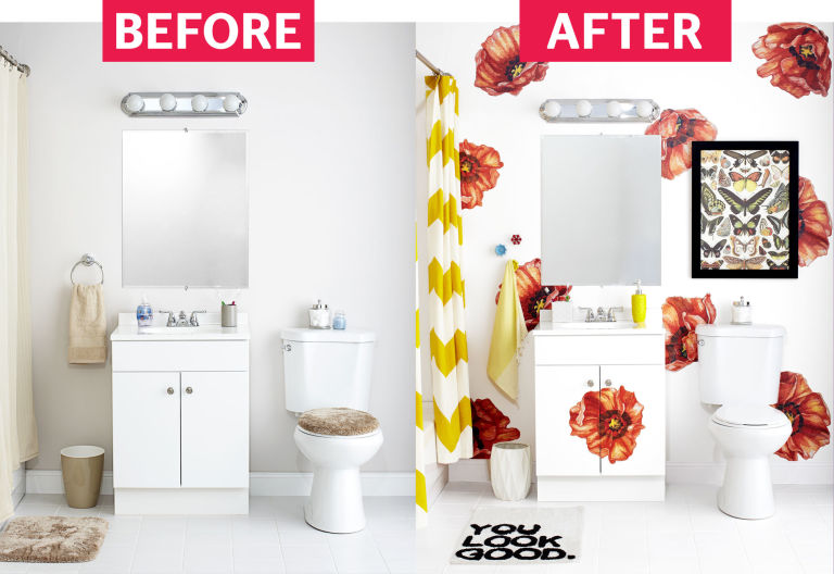 Bathroom On A Budget #30: 15 Ways To Make Over Your Bathroom On A Budget