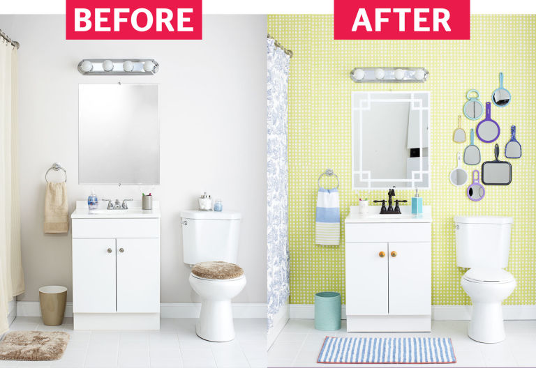 15 Ways to Make Over Your Bathroom On A Budget