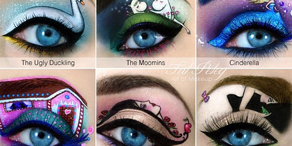 This Artist S Eye Makeup Illustrations Are Mindblowingly