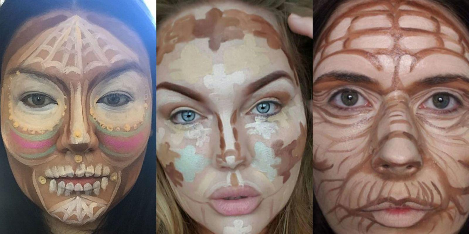 5 Weird Beauty Contouring Videos
