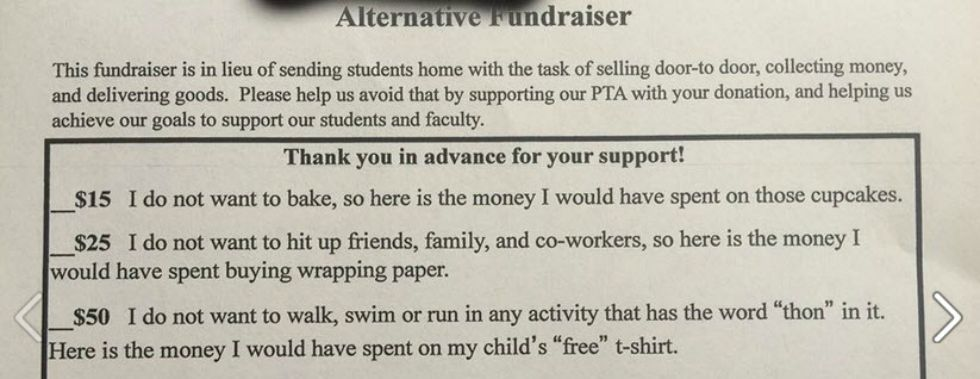 Hysterical PTA Fundraiser Letter Speaks to Parents Everywhere