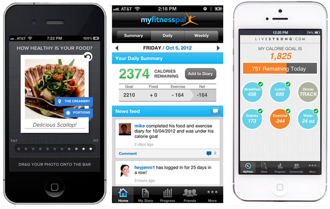 healthy eating apps gallery