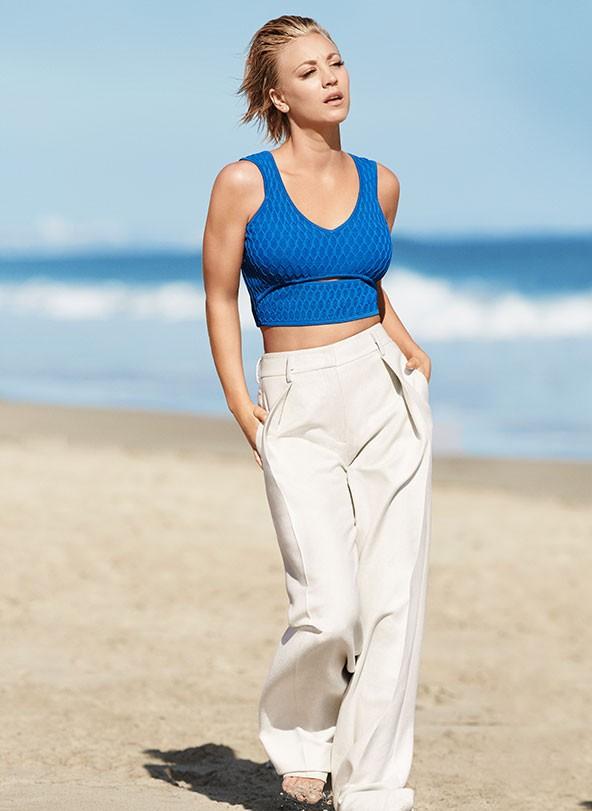 Kaley Cuoco-Sweeting Talks Body Transformation, Yoga, & Eating ...
