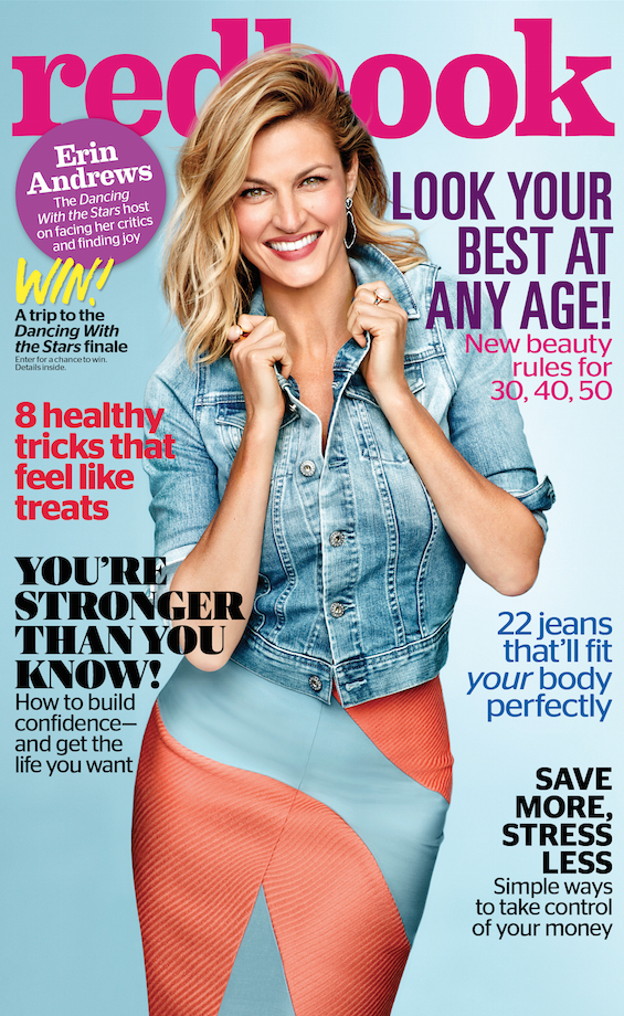Erin Andrews Redbook