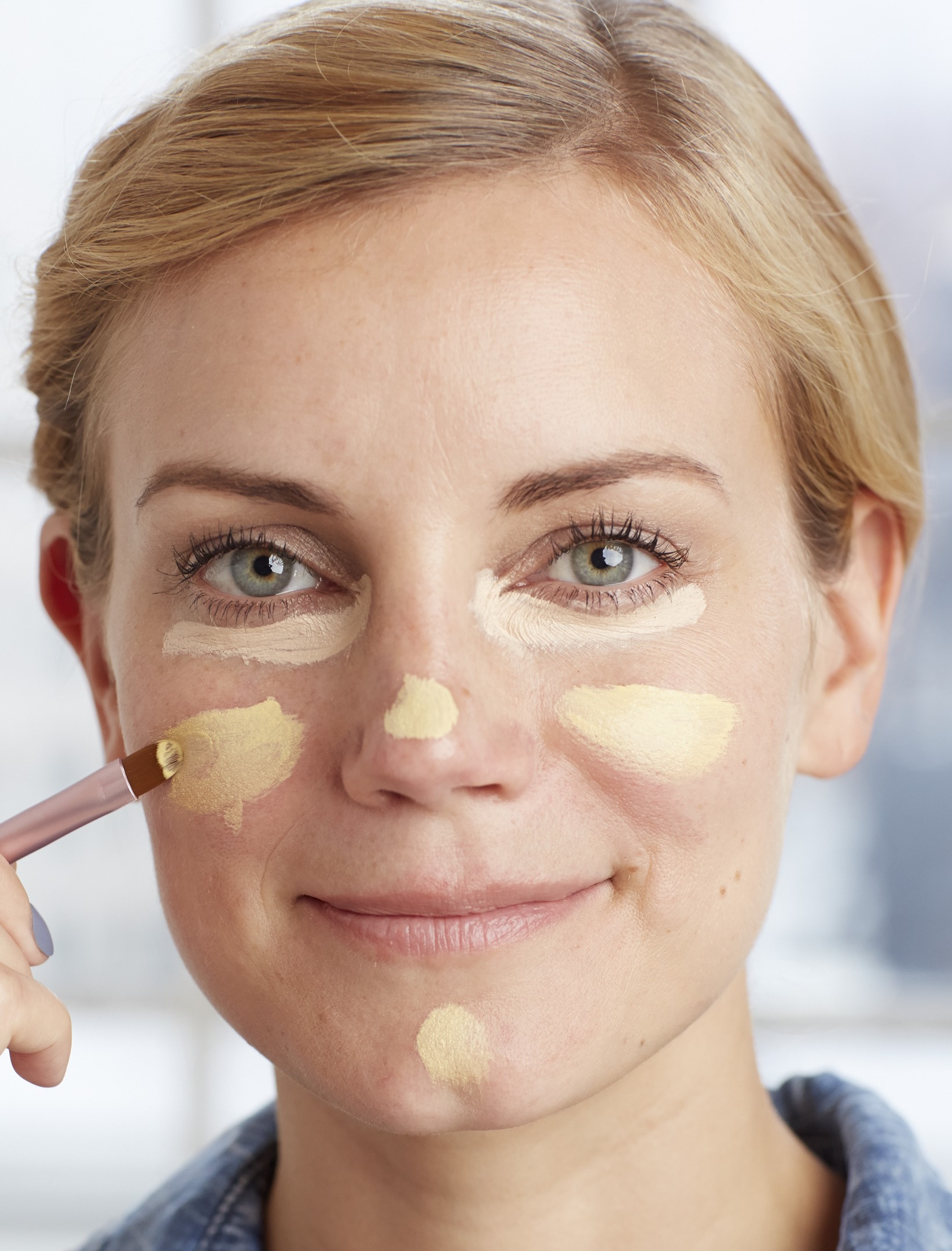 how to get rid of red blotchy skin