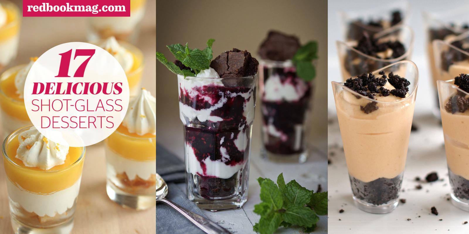 shot glass desserts mini dessert recipes