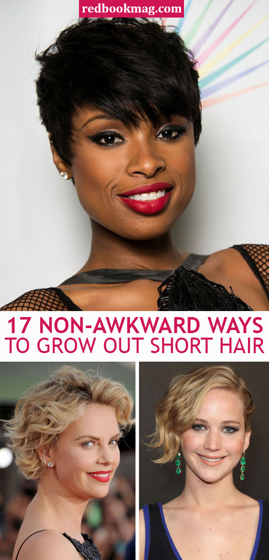 Brilliant How To Grow Out Your Hair Celebs Growing Out Short Hair Short Hairstyles Gunalazisus