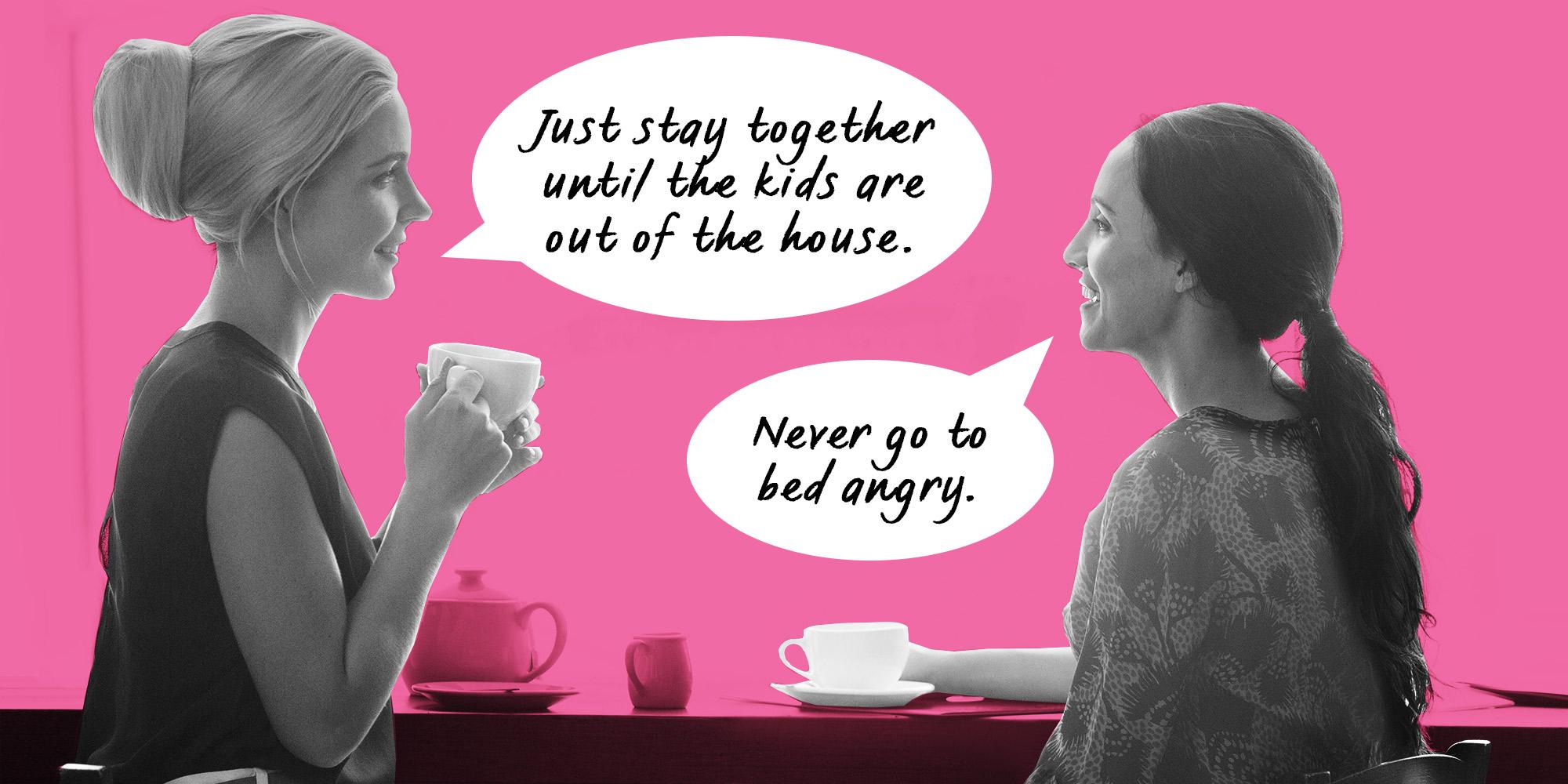 relationship advice should