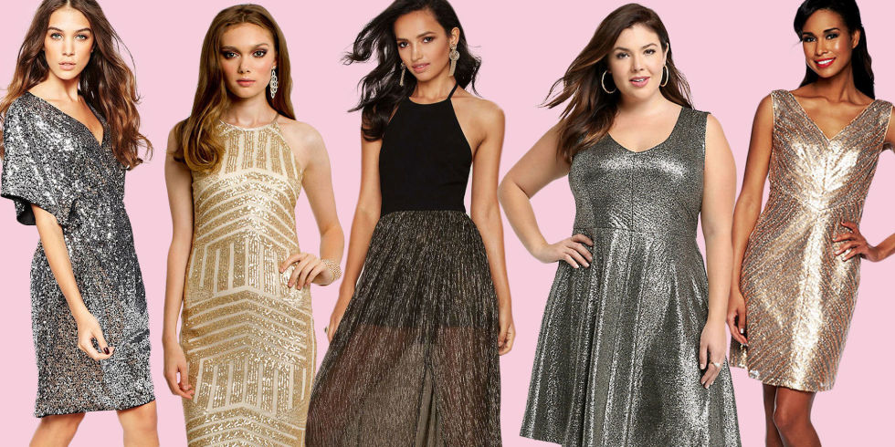 50 Sparkly Dresses - New Years Eve Dresses
