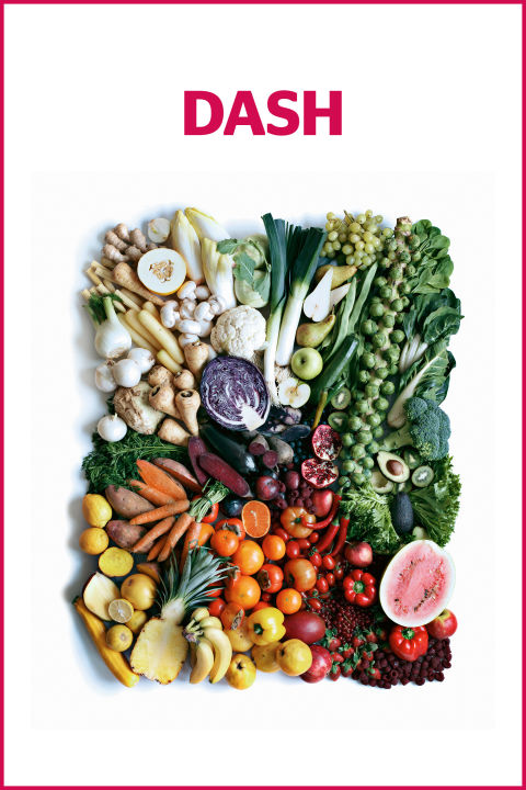 DASH Diet - top 5 diet plans