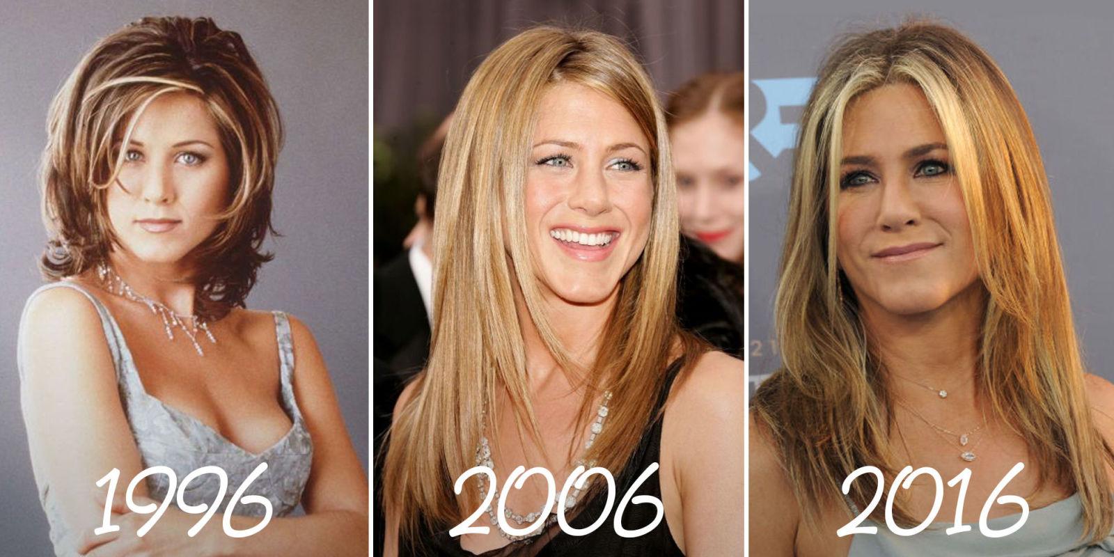 29 Times Jennifer Aniston Changed Her Hair Jennifer