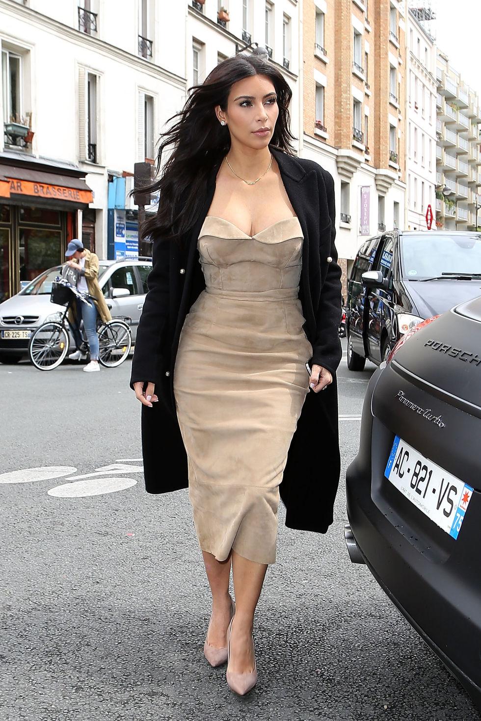 dress style kim kardashian quick