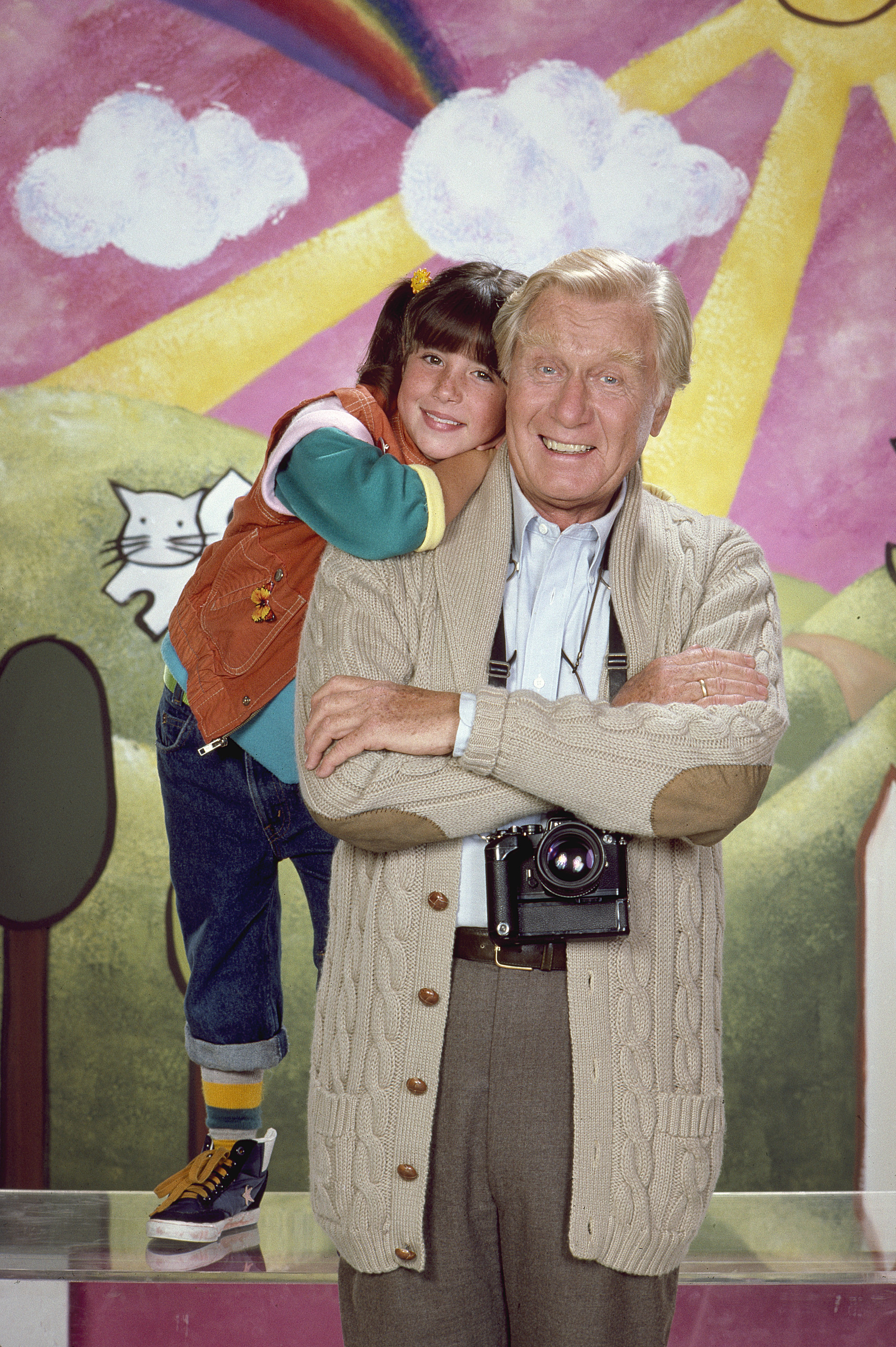 George Gaynes Star Of Punky Brewster And The Police