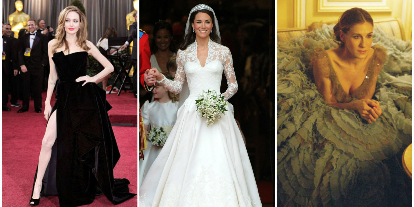 The Best Dressed Celebrity Brides of All Time | Wedding ...