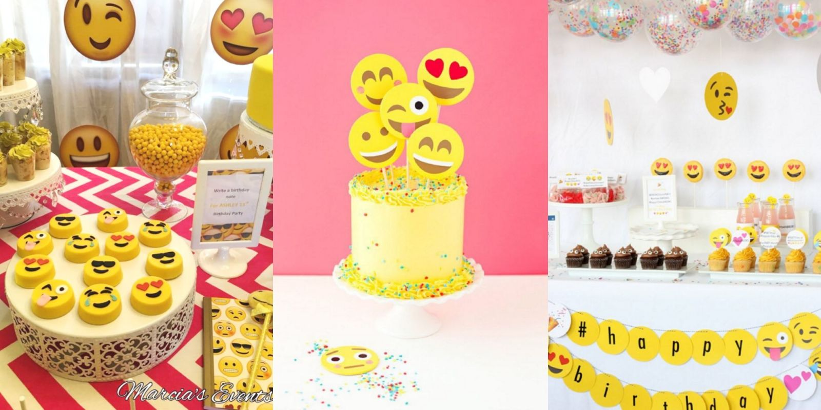 Emoji Themed Kids Birthday Parties Are A Thing And Theyre