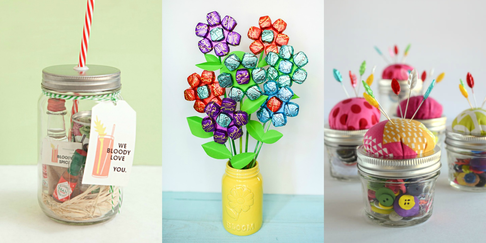 Diy Crafts For Baby Room: 25 Mason Jar Presents For Mother's Day