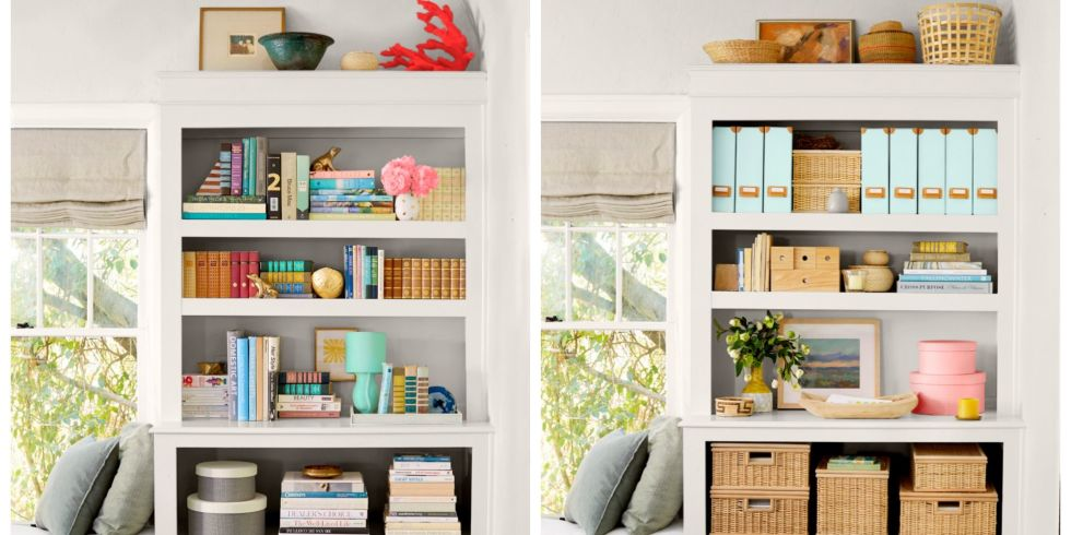 organize your bookshelf - How To Organize Your Home