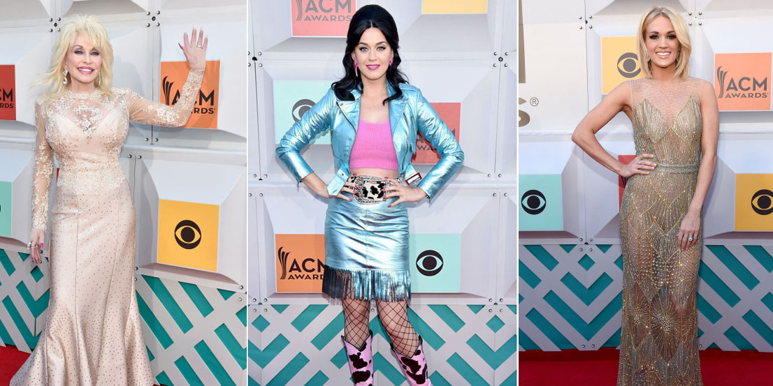 All The Best Looks From 2016 Academy Of Country Music