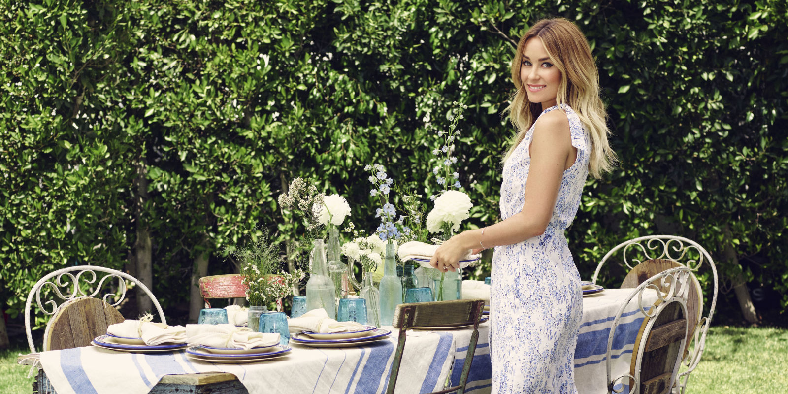 Lauren Conrad Serves Up Her Stress Free Party Planning Tips