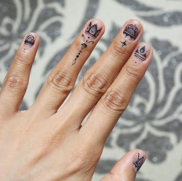 - 34 Fall Nail Designs For 2017 - Cute Autumn Manicure Ideas