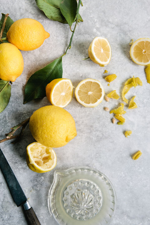 how to make citric acid from lemon juice