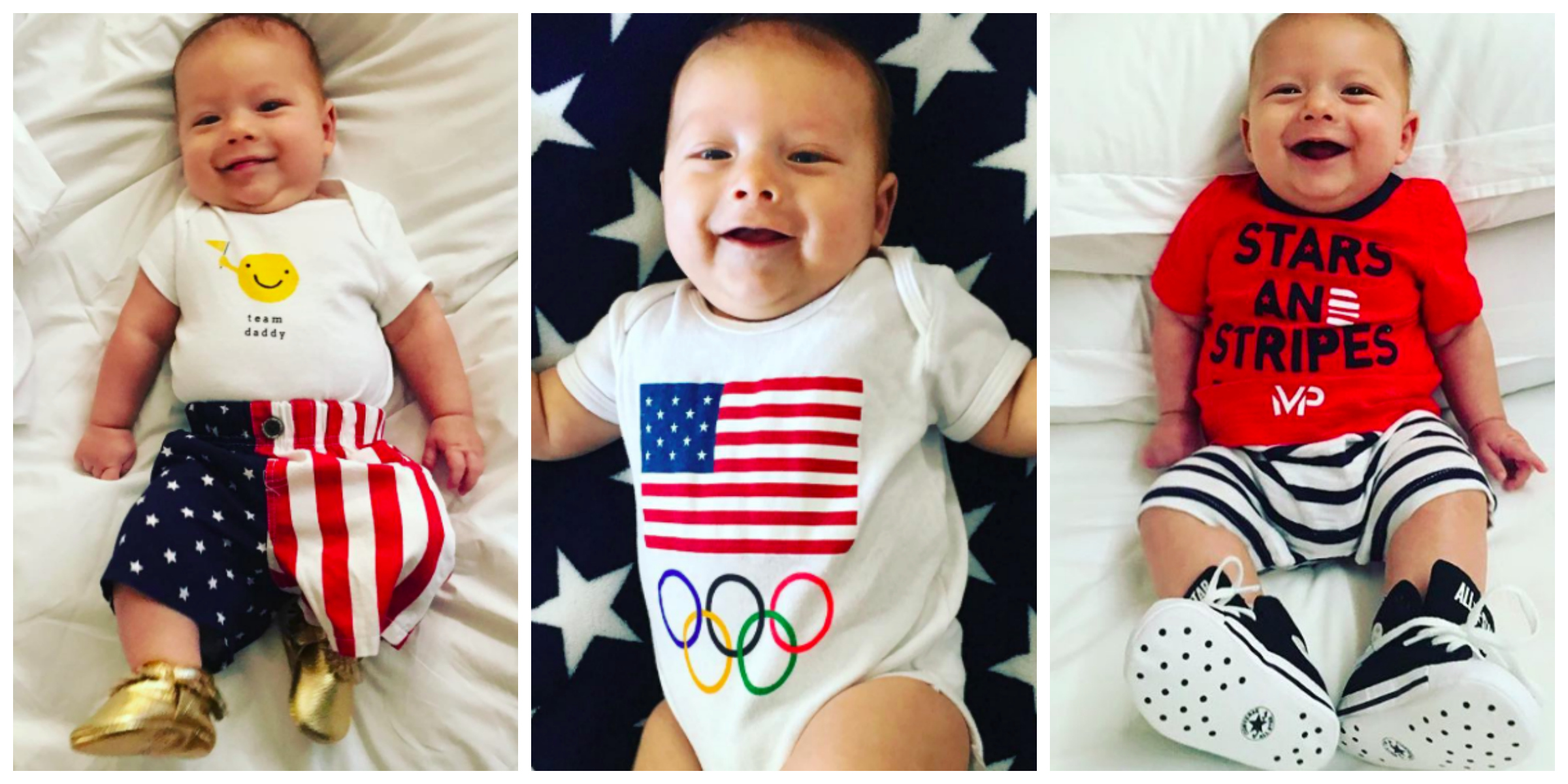 10 Times Boomer Phelps Was the Cutest Little Guy at the Olympics