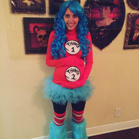the most famous dr seuss quote to the world you may be one - Pregnant Mom Halloween Costume