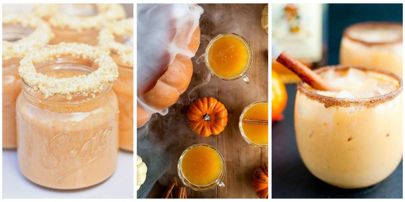 13 pumpkin cocktail recipes for fall 2016 unique ideas for Fall cocktail ideas