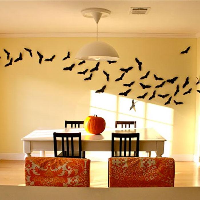23 cute diy halloween decorations easy homemade halloween decor - Halloween Room Decor