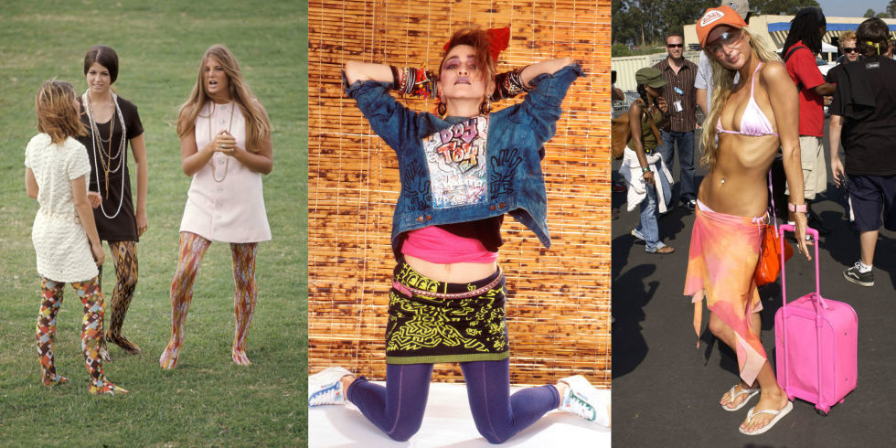 The Worst Fashion Trends Of Every Decade