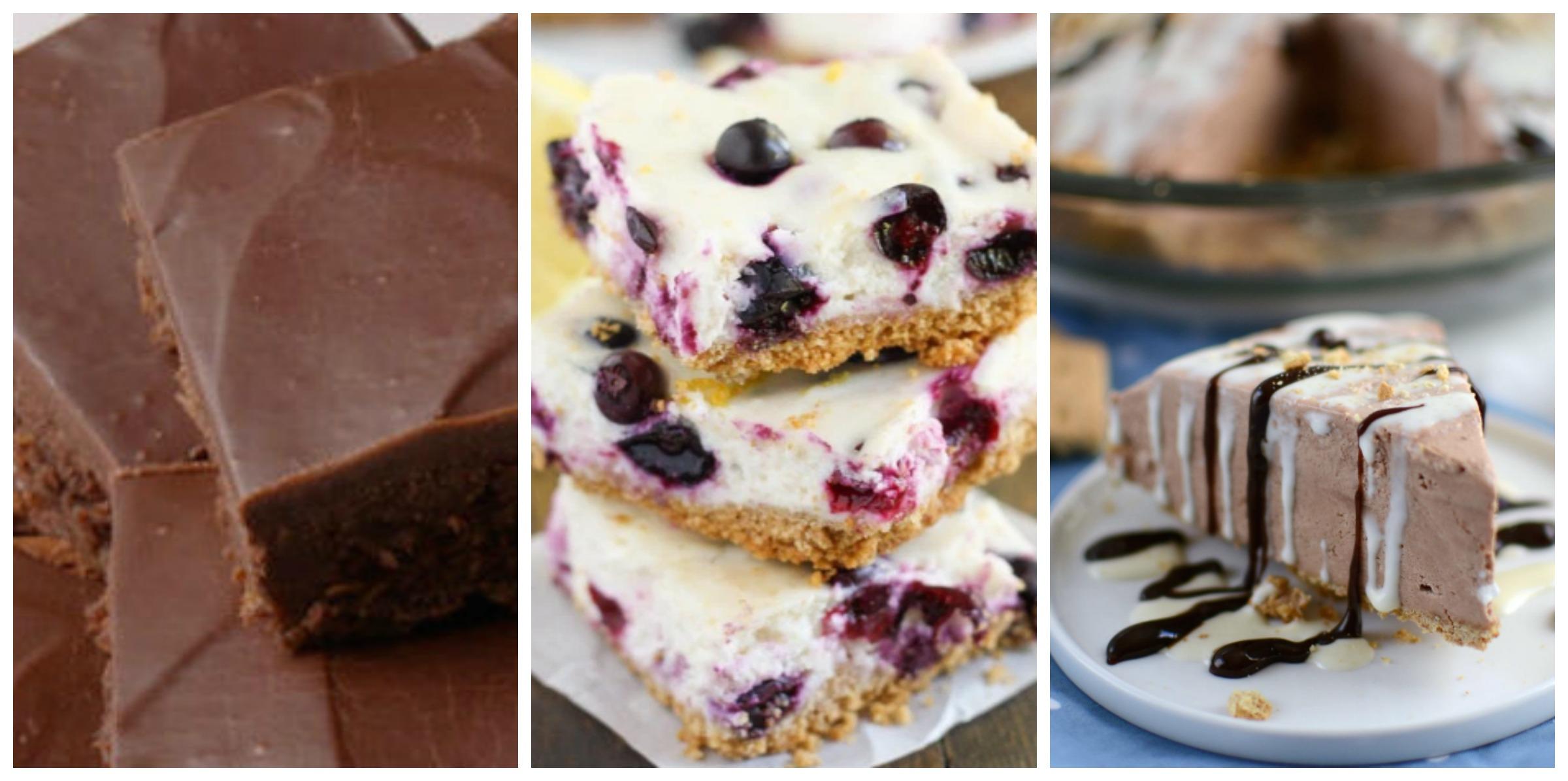 Low Calorie Desserts Two Ingredient Dessert Recipes