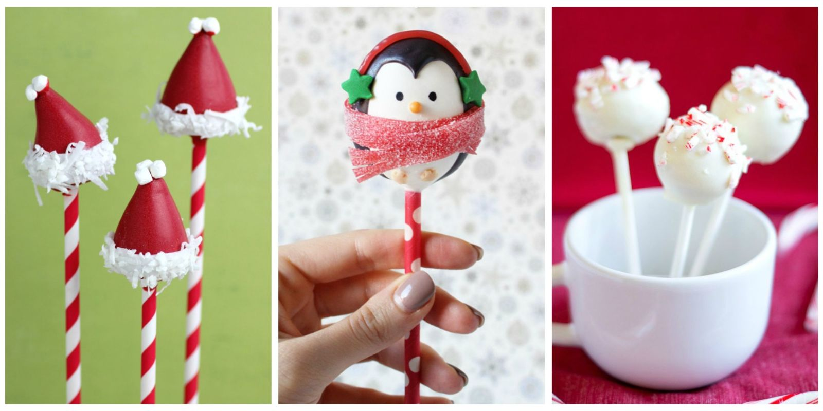 11 Easy Christmas Cake Pop Ideas