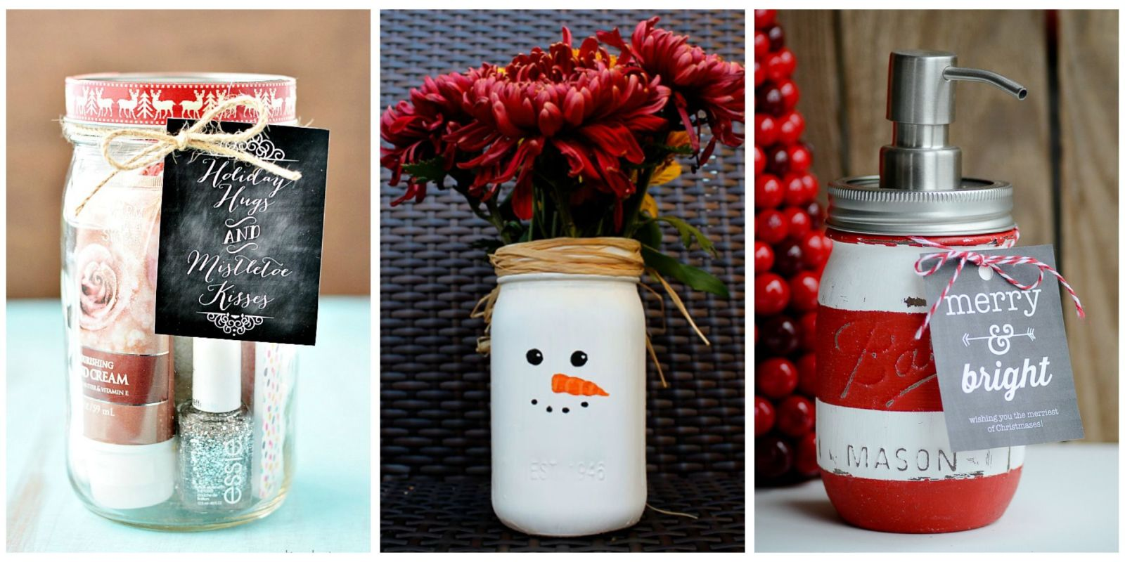 25 Diy Mason Jar Gift Ideas Homemade Christmas Gifts In