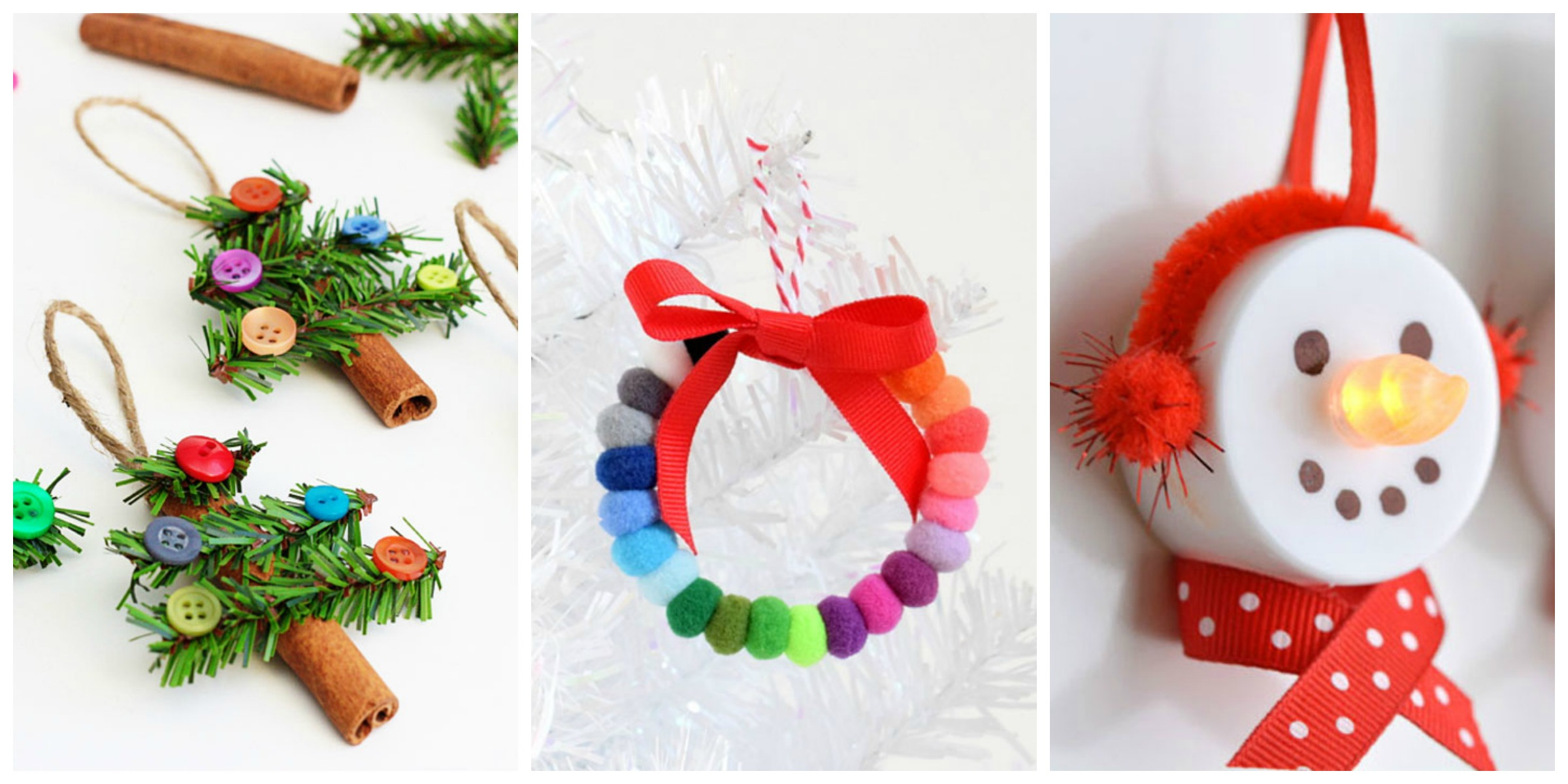 56 unique diy christmas ornaments easy homemade ornament Christmas tree ornaments ideas