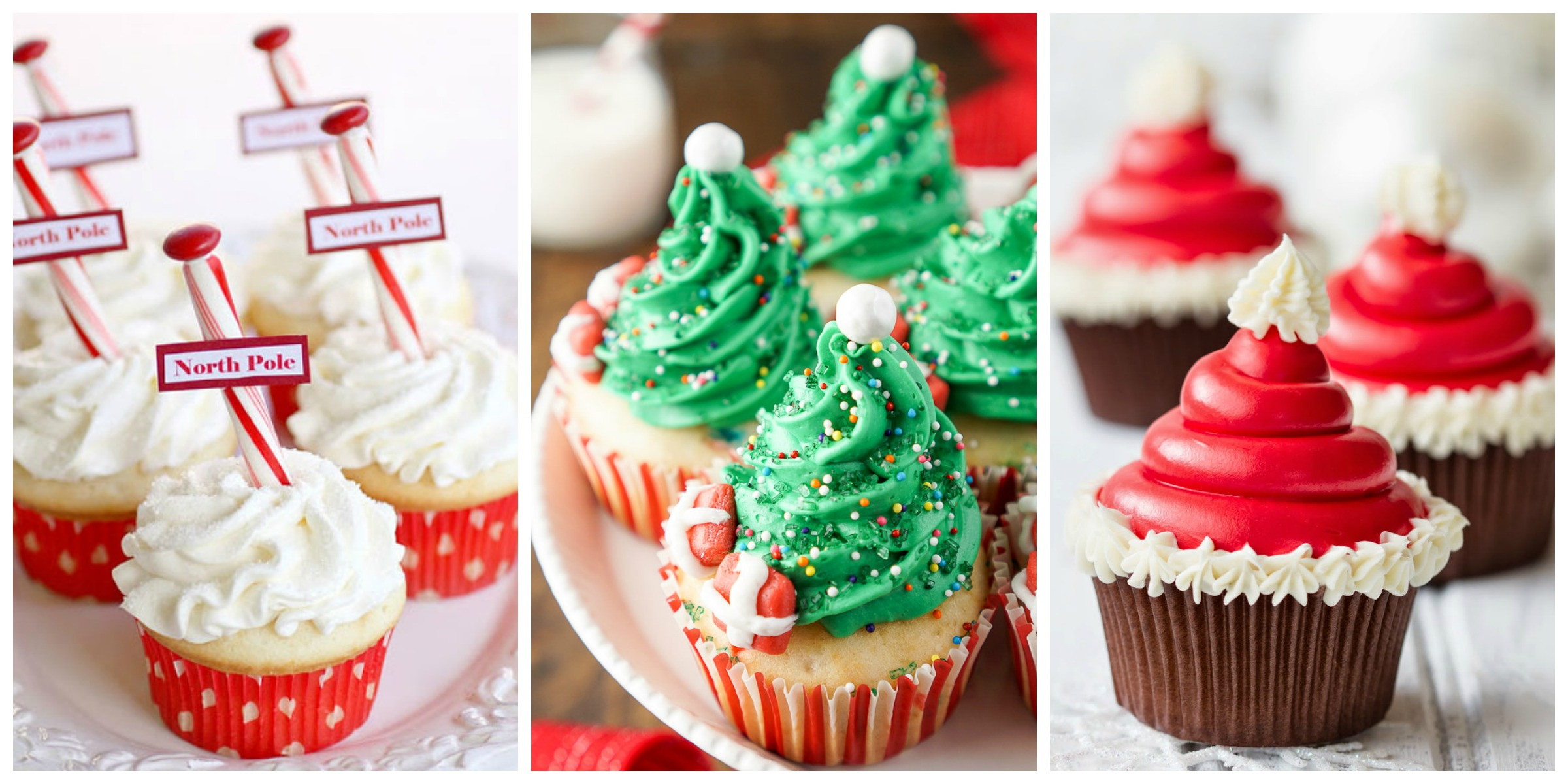 19 Christmas Cupcakes - Cupcake Decorating Ideas