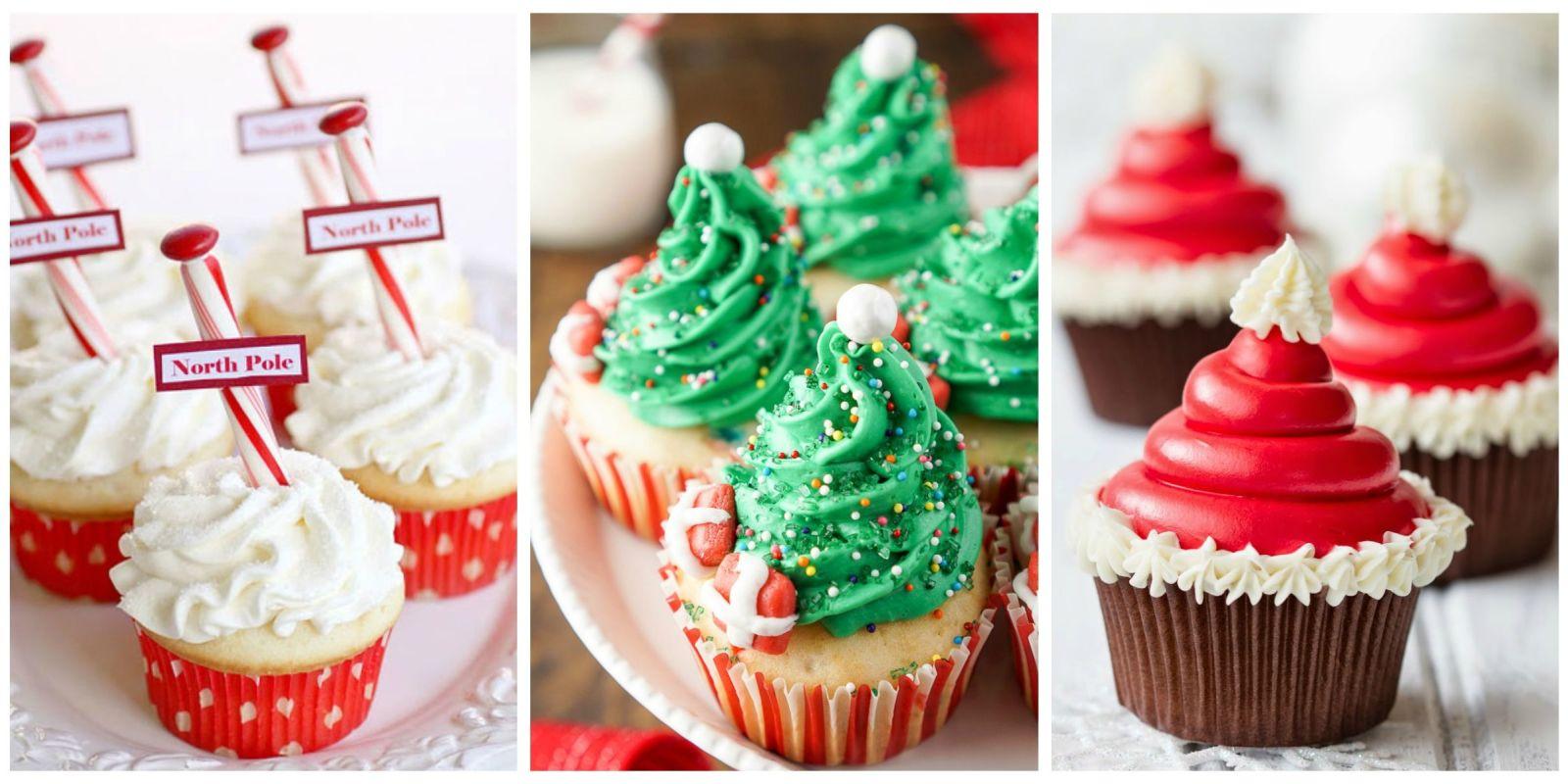 Christmas Cupcake Decoration : 19 Christmas Cupcakes - Cupcake Decorating Ideas