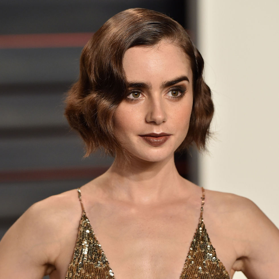 From lily collins hairstyles 2017 best haircuts and hair colors - From Lily Collins Hairstyles 2017 Best Haircuts And Hair Colors 24
