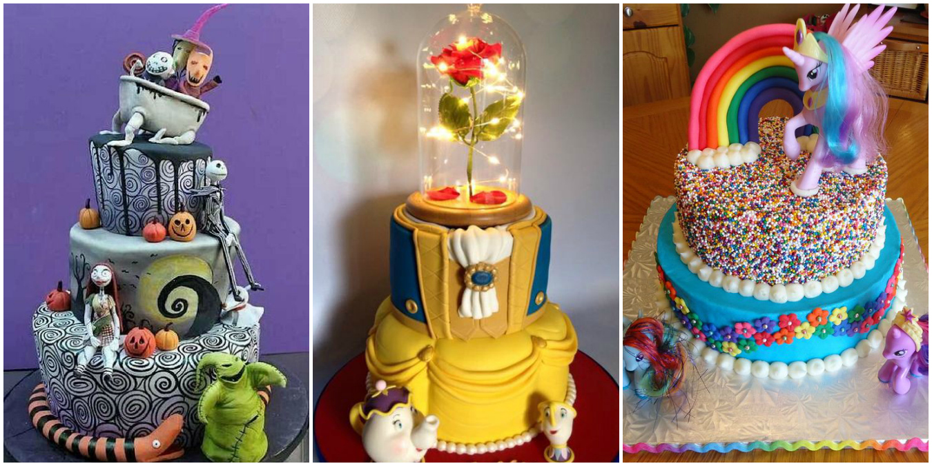Over The Top Kids Birthday Cakes Elaborate Birthday