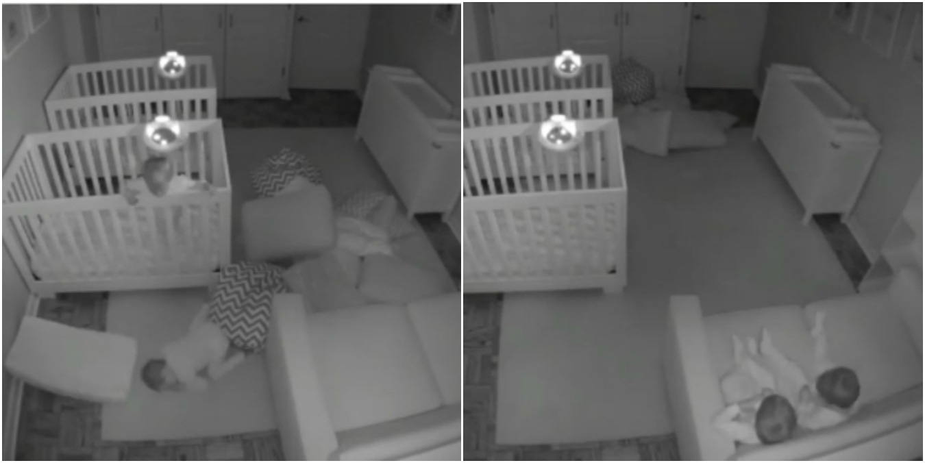 Baby escapes crib youtube - Viral Toddler Twins Caught Staying Up All Night Twins Have An Adorable All Night Slumber Party