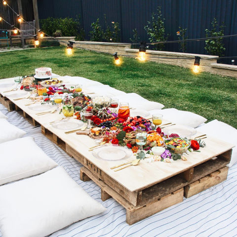 14 best backyard party ideas for adults - summer entertaining decor