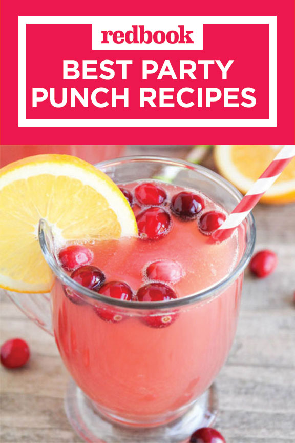 20 best punch recipes for parties alcoholic party punch for Best drinks to have at a party