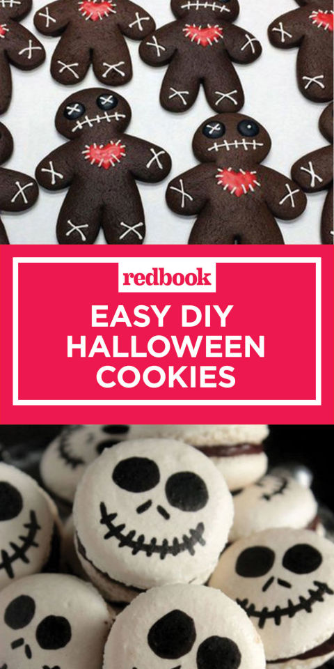 want more halloween inspiration pin this gallery for later and follow redbook on pinterest for - Easy Halloween Cookie Ideas