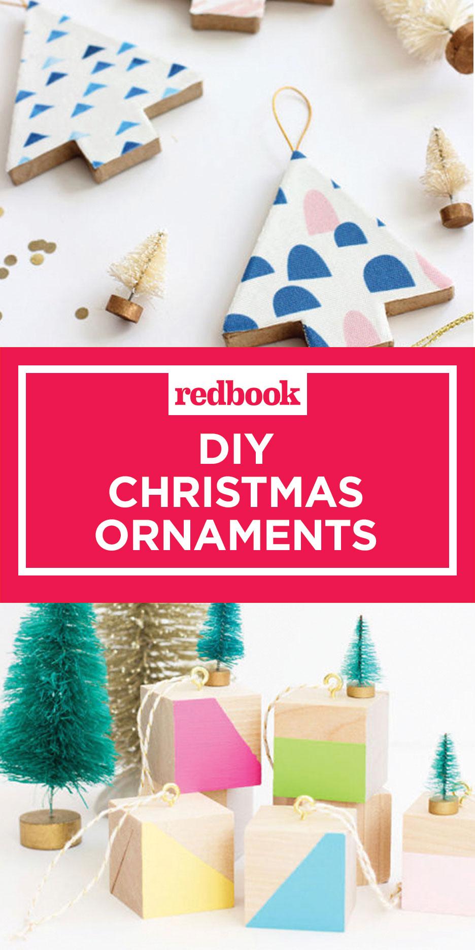 56 Unique DIY Christmas Ornaments - Easy Homemade Ornament ...