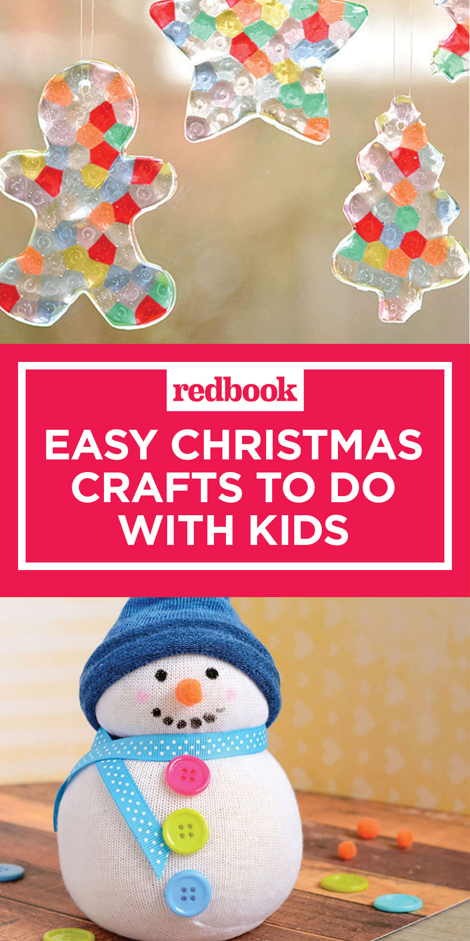 Easy Christmas Crafts for Kids - Holiday Arts and Crafts