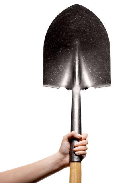 Приснилась лопата в своих руках