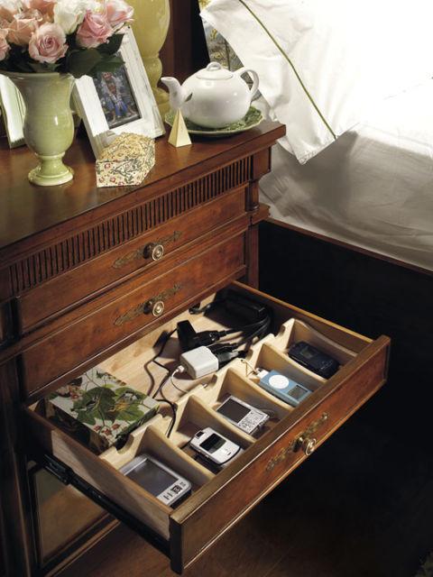 Electronics Organization Storage Solutions Furniture